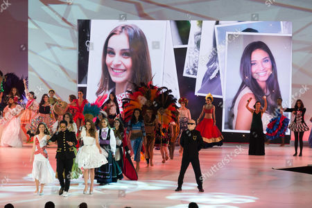 Sky Blu at the Miss World 2014 Grand Final