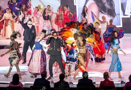 Editorial photo of Miss World 2014 Grand Final, The Auditorium ExCel, London, Britain - 14 Dec 2014