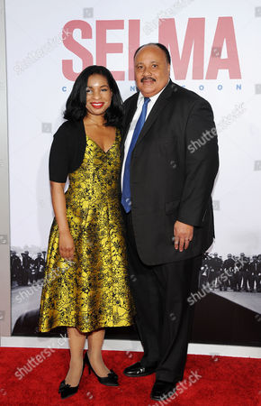 Arndrea Waters King, Martin Luther King III