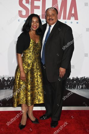 Arndrea Waters King and Martin Luther King III