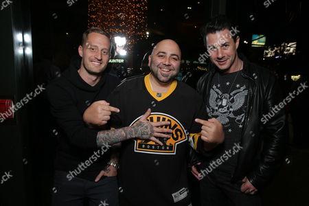 Stock Image of Michael Voltaggio, Duff Goldman, Johnny Iuzzini