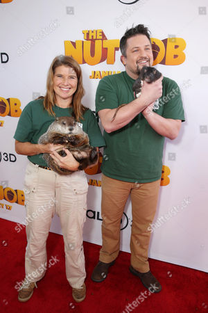 Editorial image of Open Road's Premiere of 'The Nut Job'