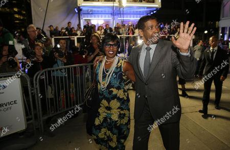 Denzel Washington, Pauletta Pearson Washington