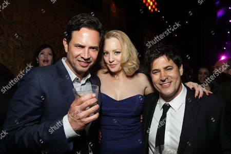 Stock Photo of Keith Merryman, Wendi McLendon-Covey, David A. Newman