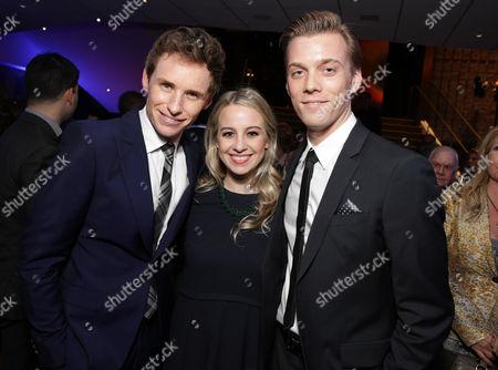 Eddie Redmayne, Allie Wood, Jake Abel