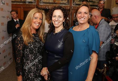 Ellen Schwartz, Karen Kehela-Sherwood, Kim Roth