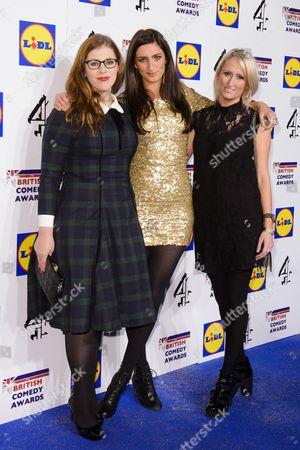 Lydia Rose Bewley, Jessica Knappett and Lauren O'Rourke