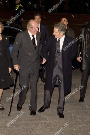 Alfonso Diez and King Juan Carlos