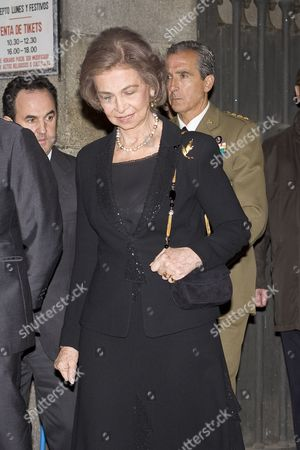 Editorial picture of Funeral Mass of the Duchess of Alba, Cayetana Fitz-James Stuart, Madrid, Spain - 15 Dec 2014