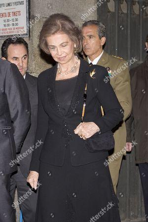 Editorial image of Funeral Mass of the Duchess of Alba, Cayetana Fitz-James Stuart, Madrid, Spain - 15 Dec 2014