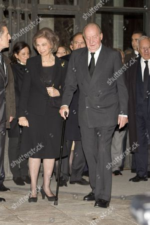 King Juan Carlos and Former Queen Sofia