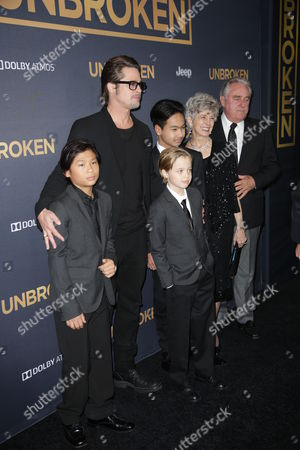 Editorial picture of 'Unbroken' film premiere, Los Angeles, America - 15 Dec 2014