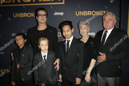 Editorial photo of 'Unbroken' film premiere, Los Angeles, America - 15 Dec 2014
