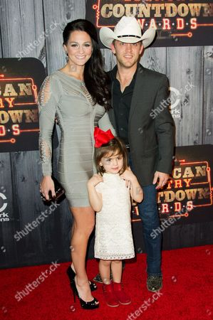 Kate Moore, Justin Moore and their daughter Elle Moore