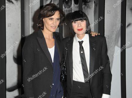 Chantal Thomas and Ines de la Fressange