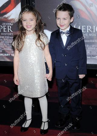 Madeleine McGraw and Aidan McGraw