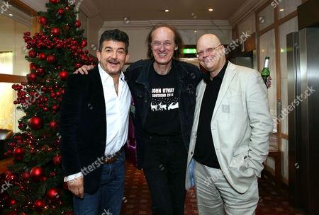 John Altman, John Otway and composer John Altman