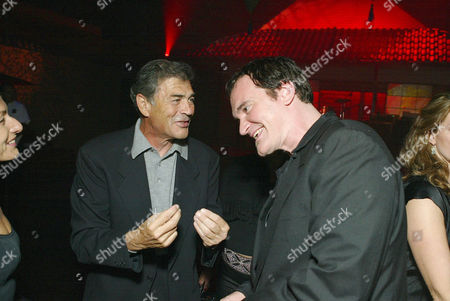 Robert Forester and Quentin Tarantino