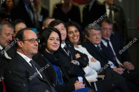 Editorial image of Francois Hollande gives speech focussed on low-income, Lens, France - 16 Dec 2014