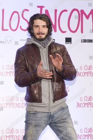 Spanish actor Yon Gonzalez
