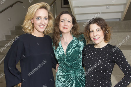 Stock Picture of Kate Pakenham (Executive Producer), Josie Rourke (Director) and Arielle Tepper Madover (Producer)
