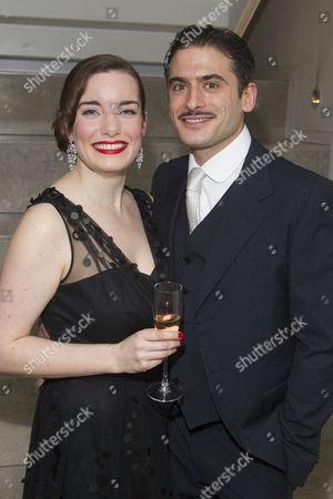 Rebecca Trehearn (Donna/Oolie) and Marc Elliott (Pancho Vargas/Lieutenant Munoz)