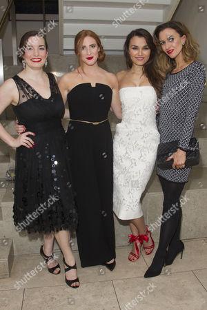 Rebecca Trehearn (Donna/Oolie), Rosalie Craig (Gabby/Bobbi), Samantha Barks (Mallory/Avril) and Katherine Kelly (Carla/Alaura)