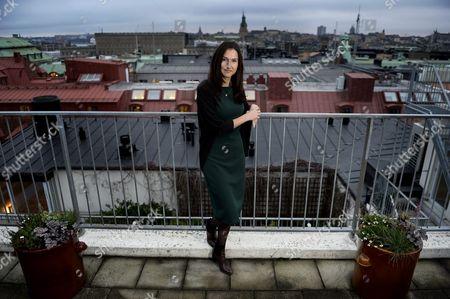 Editorial image of Aida Hadzialic, Stockholm, Sweden - 27 Nov 2014