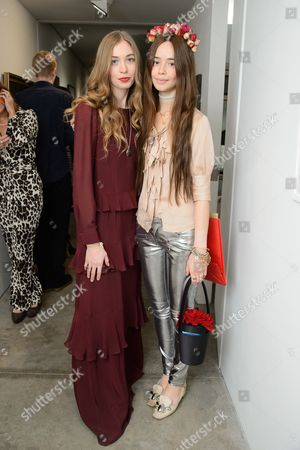 Anouska Beckwith and Flo Morrissey