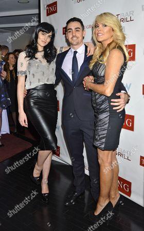 Stock Image of Ali Lohan, Michael Lohan Jr and Dina Lohan
