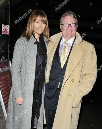 Michelle Cotton and Jim Davidson