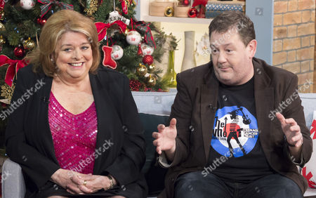 Lynda Baron and Johnny Vegas