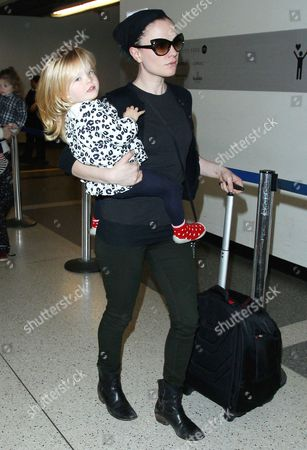 Editorial image of Anna Paquin and Stephen Moyer at LAX airport, Los Angeles, America - 18 Dec 2014
