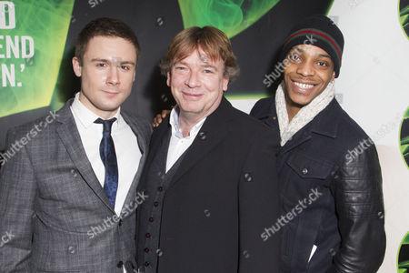 Danny-Boy Hatchard, Adam Woodyatt and Khali Best