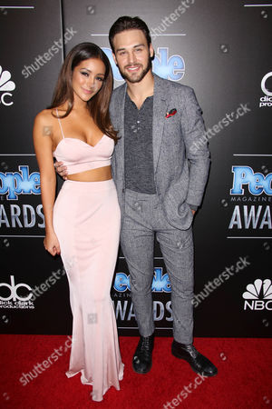 Melanie Iglesias and Ryan Guzman