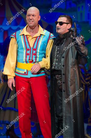 Matt Slack (Silly Billy) and Chris Gascoyne (Fleshcreep)
