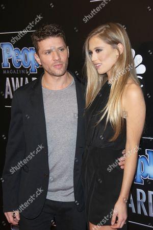 Stock Photo of Ryan Phillippe and Paulina Slagter