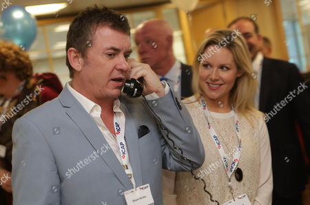 Shane Ritchie And Abi Titmuss At Icapoos 21st Annual Global Charity Day Got Underway With Brokers Dressing Up On The Trading Floor To Raise Money For 200 Charities Worldwide. Abbie Titmuss And Shane Ritchie Joins Icap In Its London Office To Speak To Customers And Help Boost Trading Volumes For The Day. Icap Charity Day Has Raised More Than Ii100 Million For Over 1 400 Charities Since 1993.