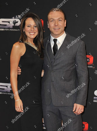 Sir Chris Hoy And Wife Sarra Kemp Sir Chris Hoy - 60th Anniversary Of The Bbc Sports Personality Awards 2013 At The First Direct Arena Leeds West Yorkshire.