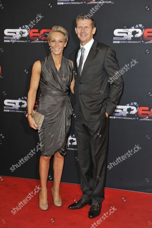 Steve Cram And Allison Curbishley - 60th Anniversary Of The Bbc Sports Personality Awards 2013 At The First Direct Arena Leeds West Yorkshire.