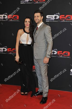 Carl Froch And Rachael Cordingley - 60th Anniversary Of The Bbc Sports Personality Awards 2013 At The First Direct Arena Leeds West Yorkshire.