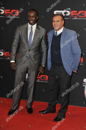 Dwight Yorke And Clayton Blackmore - 60th Anniversary Of The Bbc Sports Personality Of The Year Awards 2013 At The First Direct Arena Leeds West Yorkshire.