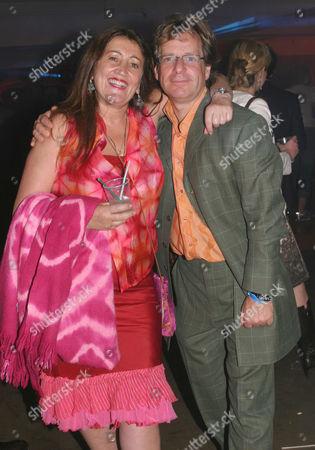 Lynne Franks and Mark Borkowski