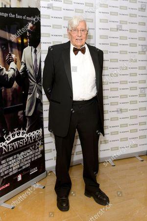 Editorial picture of 'The Newspaper' film premiere, London, Britain - 19 Dec 2014