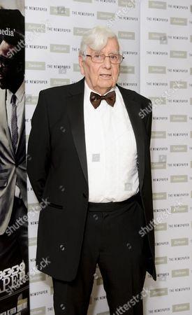 Editorial image of 'The Newspaper' film premiere, London, Britain - 19 Dec 2014