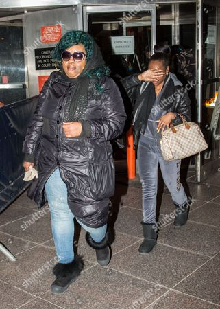 Editorial image of Leslie Pollard leaving the New York State Courthouse, America - 18 Dec 2014