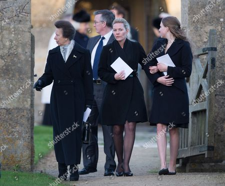 Princess Anne, Autumn Phillips and Stephanie Phillips