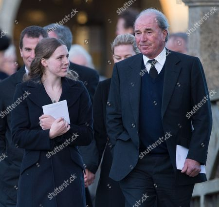 Editorial picture of The Funeral of Sarah Staples at the Church of St Peter & St Paul, Great Somerford, Wiltshire, Britain - 19 Dec 2014