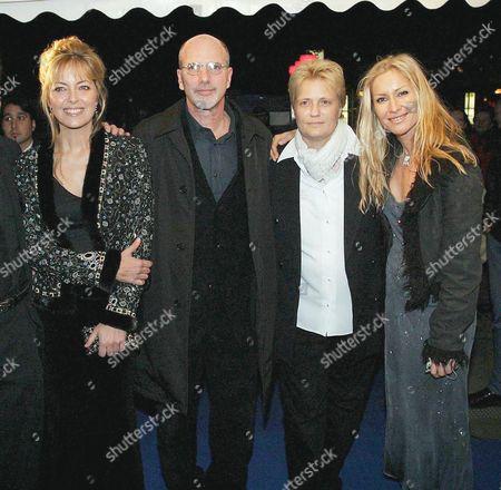 Greta Scacchi, Reuben Leder, Jutta Rabe and Birgit Stein
