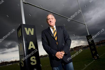 Stock Picture of Wasps owner, Derek Richardson